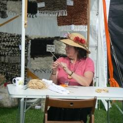 Corn dolly making at SFF